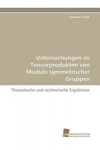 Untersuchungen Zu Tensorprodukten Von Moduln Symmetrischer Gruppen