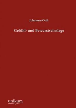 Gefuhl- Und Bewusstseinslage