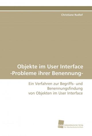 Objekte im User Interface -Probleme ihrer Benennung-