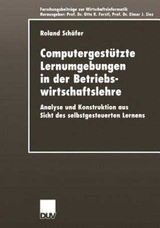 Computergestutzte Lernumgebungen in der Betriebswirtschaftslehre