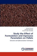 Study the Effect of Formulation and Inprocess Parameters on Pellets