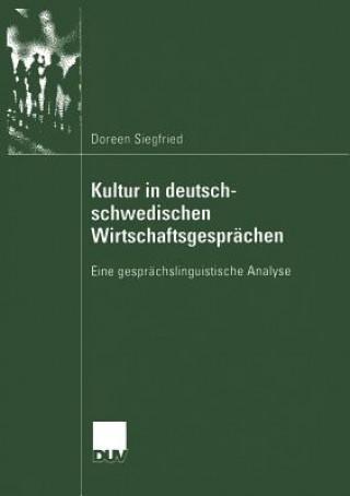 Kultur in Deutsch-schwedischen Wirtschaftsgesprachen