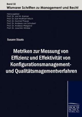 Metriken Zur Messung Von Effizienz Und Effektivitat Von Konfigurationsmanagement- Und Qualitatsmanagementverfahren