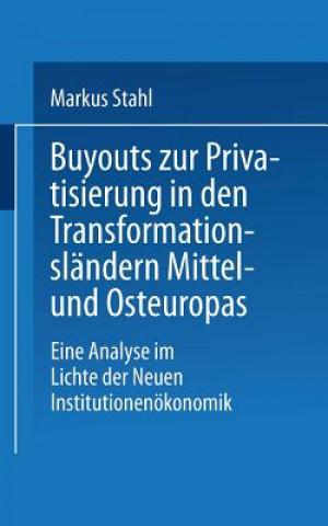 Buyouts Zur Privatisierung in Den Transformationslandern Mittel- Und Osteuropas