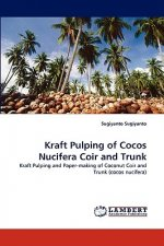 Kraft Pulping of Cocos Nucifera Coir and Trunk