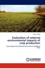 Evaluation of external environmental impacts of crop production