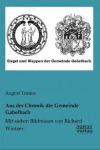 Aus der Chronik der Gemeinde Gabelbach