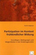 Partizipation im Kontext frühkindlicher Bildung