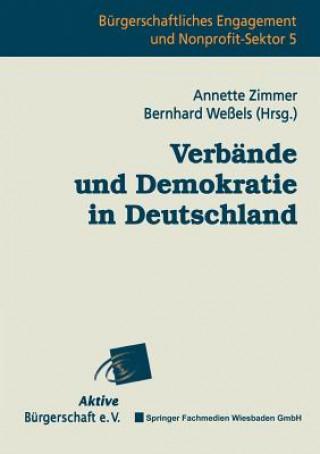 Verb�nde Und Demokratie in Deutschland