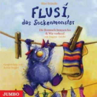 Flusi, das Sockenmonster