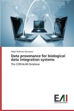 Data provenance for biological data integration systems