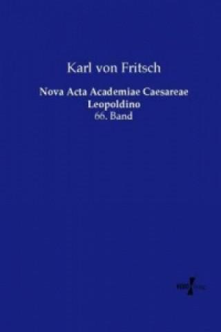 Nova Acta Academiae Caesareae Leopoldino