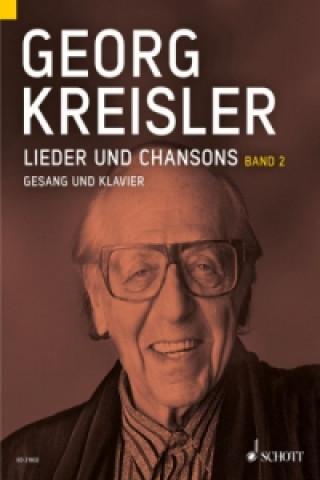 Lieder und Chansons, Gesang und Klavier. Bd.2