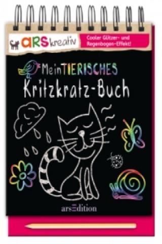Mein tierisches Kritzkratz-Buch Holzstift