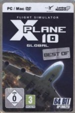 Flight Simulator X-Plane 10 - Global 64Bit Version für MAC+Linux, CD-ROM