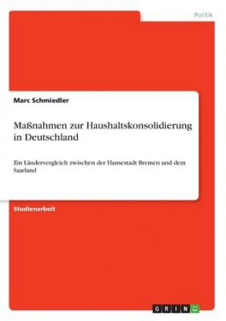 Maßnahmen zur Haushaltskonsolidierung in Deutschland