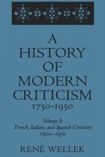 History of Modern Criticism, 1750-1950