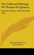 Collected Writings Of Thomas De Quincey