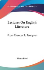 Lectures On English Literature