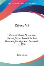 Zeluco V1: Various Views Of Human Nature, Taken From Life And Manners, Foreign And Domestic (1803)