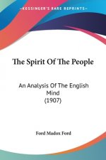 THE SPIRIT OF THE PEOPLE: AN ANALYSIS OF