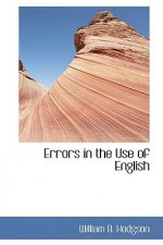 Errors in the Use of English
