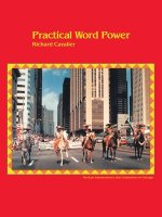 Practical Word Power