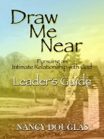 Draw Me Near, Leader's Guide