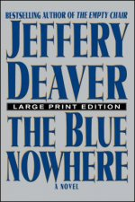 Blue Nowhere - Large Print Edition