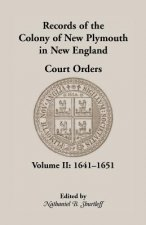 Records of the Colony of New Plymouth in New England Court Orders,1641-1651