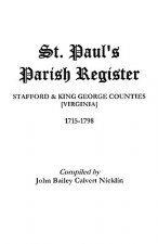 St. Paul's Parish Register