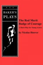 Red Merit Badge of Courage