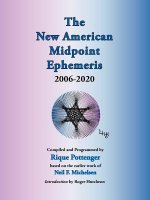 New American Midpoint Ephemeris 2006-2020
