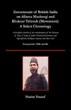 Government of British India on Allama Mashraqi and Khaksar Tehreek (Movement)