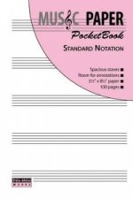 Music Paper Pocketbook - Standard Notation