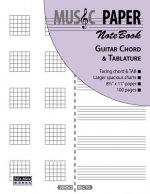 Music Paper Notebook - Guitar Chord & Tablature