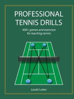 Professional Tennis Drills (Letter)