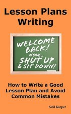 Lesson Plans Writing