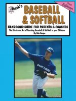 Teach'n Baseball & Softball Handbook/Guide for Parents & Coaches