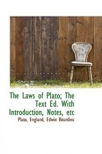 Laws of Plato; The Text Ed. with Introduction, Notes, Etc