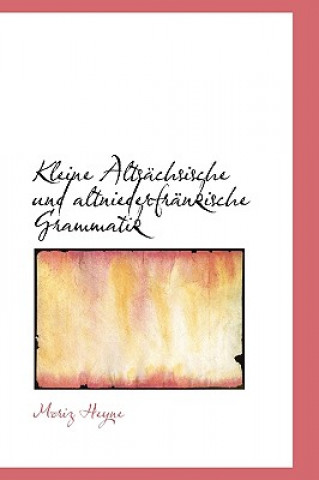 Kleine Alts Chsische Und Altniederfr Nkische Grammatik