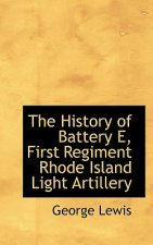 History of Battery E, First Regiment Rhode Island Light Artillery
