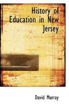 History of Education in New Jersey