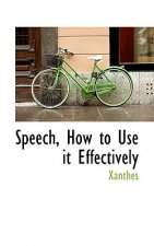 Speech, How to Use It Effectively