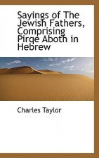 Sayings of the Jewish Fathers, Comprising Pirqe Aboth in Hebrew