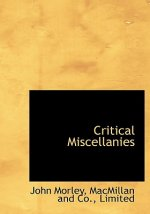 Critical Miscellanies
