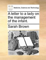 A letter to a lady on the management of the infant.