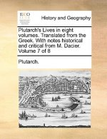 Plutarch's Lives in eight volumes. Translated from the Greek. With notes historical and critical from M. Dacier.  Volume 7 of 8