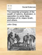 The essential principles of the wealth of nations, illustrated, in opposition to some false doctrines of Dr. Adam Smith, and others.
