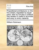Proportional architecture; or, the five orders; regulated by equal parts: after so concise a method that renders it useful to all artists and easy to